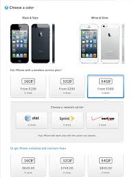 iPhone 5 Pricing With Without Contract SiNfuL iPhone