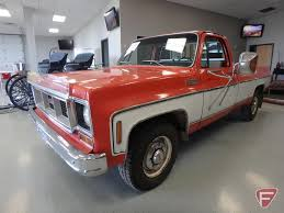 1974 GMC Sierra Grande 2500 Ca... Auctions Online | Proxibid 1974 Gmc Truck For Sale Classiccarscom Cc1133143 Super Custom Pickup Pinterest Your Ride Chevy K5 Blazer 9500 Brochure Sierra 3500 1055px Image 8 Pickup Suburban Jimmy Van Factory Shop Service Manual Indianapolis 500 Official Trucks Special Editions 741984 All Original 1500 By Roaklin On Deviantart Chevrolet Ck Wikipedia Feature Sierra 2500 Camper Classic Cars Stepside 1979 Corvette C3 Flickr Gmc Best Of Full Cversions From An Every Day To