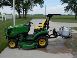 John Deere 1025r Mower Deck Adjustment by What Did You Do With Your Scut Deere Today Page 342