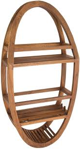 teak shower caddies naturally water resistant wood organizers