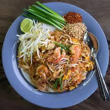 cuisine thailandaise recettes recette du pad thaï nouilles sautées thaïlandaise