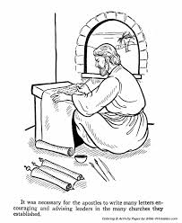 The Apostles Coloring Pages 17