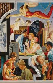 Famous American Mural Artists by Thomas Hart Benton U0027samerica Today Mural Rediscovered The