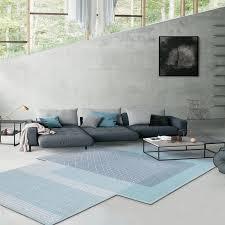 einzigartige geformt post moderne wohnzimmer dekoration teppich nordic stil große größe hotel teppich ins blau geometrische villa teppich