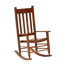 Garden Treasures Wood Rocking Chair With Slat Seat At Lowes.com