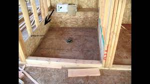 plywood shower backing money saving home building tips