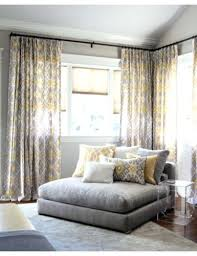Yellow And Gray Window Curtains by Excellent Yellow And Grey Window Curtains U2013 Muarju