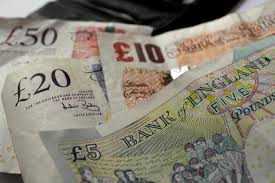 pound to exchange rate rise in two months for