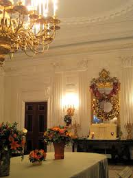 The State Dining Room Owes Its Existence To Work Done By McKim Meade And White In 1902 Prior This Time Was Half Size