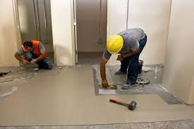 Laying Tile Over Linoleum Concrete by How To Remove Vinyl Flooring Removing Vinyl Flooring The