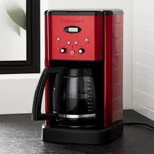 Cuisinart R Brew Central 12 Cup Red Coffee Maker