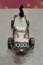 Siam The Cat Pinewood Derby Car That I Made