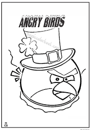 Angry Bird Coloring Pages Free Printable 70