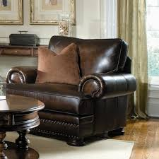 bernhardt foster upholstered living room chair with nailhead