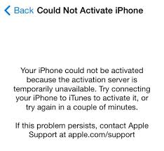 iPhone activation required error hits iOS 7 PhonesReviews UK