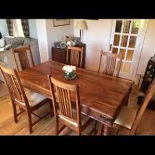 Used John Lewis Maharani Dining Table 6 Chairs