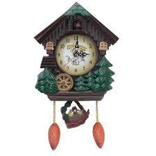kuckucksuhr kuckucks uhr wanduhr mit vogel geräusche für wohnzimmer kinderzimmer