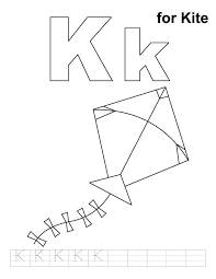 Kite Coloring Page Printable Pages 8 Colorful And Adorable