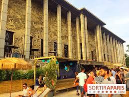 musee de la porte doree palazzo terrasse éphémère de l été 2017 sur le parvis du palais
