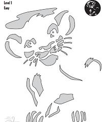 Ariel On Rock Pumpkin Carving Pattern by Simba U2026 Pinteres U2026