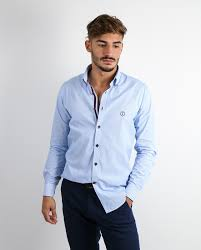 LIGHT BLUE CASUAL SHIRT C1813 for Casual shirts