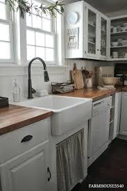 Farmhouse Kitchen Backsplash Ideas Rustic Interior Design Tile French Ceramic Wall Farm Style K