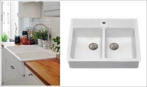 Ikea Domsjo Double Sink Cabinet by Kitchen Rooms Ideas Marvelous Ikea Domsjo Sink Installation