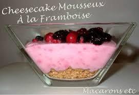 dessert aux fruits rapide cheesecake revisité aux fruits rouges macarons etc