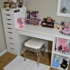 Micke Desk With Integrated Storage Hack by Mood Bedroom Makeup Hack 1 Desk Ikea Hampedia