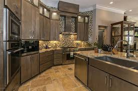 Kitchen Tile Backsplash Ideas With Dark Cabinets by 53 High End Contemporary Kitchen Designs With Natural Wood