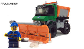 2015 LEGO City Snowplow Truck Set 60083 Review! - YouTube