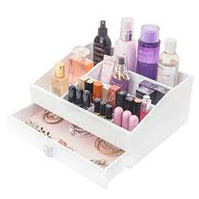 exquileg diy makeup aufbewahrungsbox make up organizer