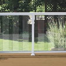 6 w glass panel kit at menards deck pinterest glass panels