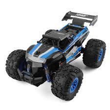 Details About LARGE MONSTER TRUCK 1/18 RADIO REMOTE CONTROL RC CAR BIGFOOT  READY TO RUN! BLUE