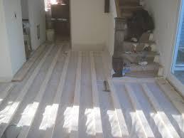 Engineered Hardwood In Basement Concrete Floor Over Wood Subfloor Greencheeseorg Plywood 1024x768