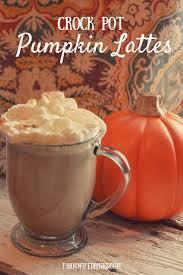 Baileys Pumpkin Spice Punch by Crock Pot Pumpkin Spice Latte With Rumchata The Farmwife Drinks