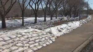 sac de inondation inondations printanières en mode protection