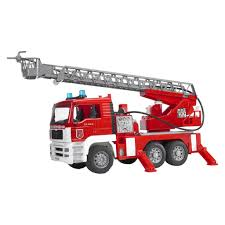 100 Bruder Logging Truck Toys Fire Engine With Water Pump Cullens Babyland Playland