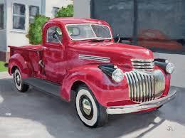 100 46 Chevy Truck CHEVY PICKUP By Raphael Schnepf