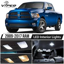 2009-2017 Dodge RAM 1500 2500 3500 White LED Interior Lights Package ...