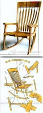 Adirondack Rocking Chair Woodworking Plans by 25 Unique Rocking Chair Plans Ideas On Pinterest Adirondack