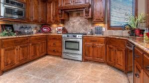 Kitchen Floor Tile Tiles Design Ideas With Dark Cabinets