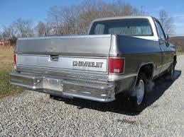 100 1987 Chevrolet Truck Silverado Fleetside Short Bed Pickup Classic