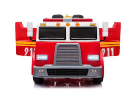 Big 2 Seats Kids 12V Fire Truck Ride On Car With Doors,Music,Lights,RC Kids Ii Having A Ball Roll Pop Fire Truck Teays Valley Wv At American Plastic Toys Rideon Gift Toddler Car For Power Wheels Paw Patrol Ride On Toy 12 Buy Push Along Engine Childrens 30 Trunki Frank The Suitcase Red Now Keezi Table And Chair Set Children Wooden Fniture 3583 Bytes Wildkin Olive Box Reviews Wayfair Personalised Classic For Oodlique Learn About Trucks Educational Video By