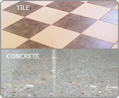 Tile And Concrete Floors