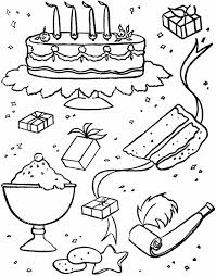 Stuff Free Birthday Coloring Pages