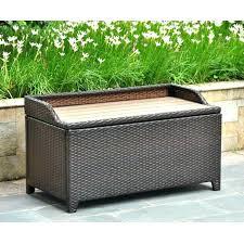 Patio Storage Bench Garden Bench With Storage Plastic Patio
