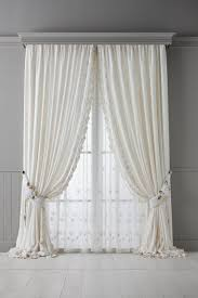 Plum And Bow Lace Curtains by Amazon Com Best Home Fashion Mix U0026 Match Tulle Sheer Lace