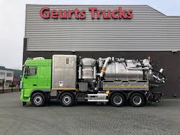 100 Septic Vacuum Trucks For Sale DAF FAD XF 105 Vacuum Trucks For Sale Portable Restroom Truck