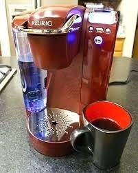 Keurig Coffee Maker Colors Pink Single Cup Purple